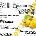 VIII. Noszvaj Birsünnep, Birs fesztivál 2018