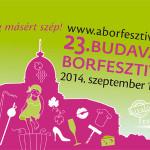 23. Budavári Borfesztivál 2014 szeptember 10-14