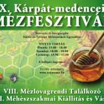 X. Kárpát-medencei Mézfesztivál 2013 november 29 – december 1