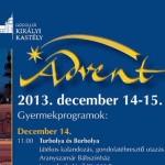 Gödöllő Királyi Kastély Advent 2013 december 14-15