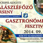 XIII. Csepel-Szigeti Halászléfőző verseny 2014