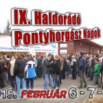 IX. Haldorádó Pontyhorgász Napok 2015