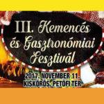 III. Kemencés Gasztronómiai Fesztivál 2017