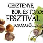 XI. Gesztenye Bor és Toros Fesztivál 2018